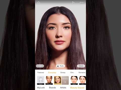 The best FREE virtual makeup app, period. It's like having a glam squad in your pocket!
