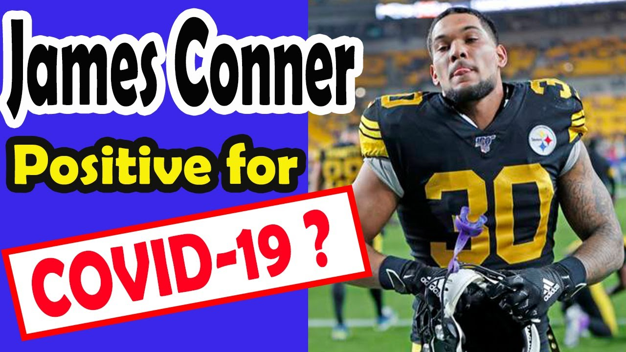 Steelers' James Conner reportedly tests positive for COVID-19