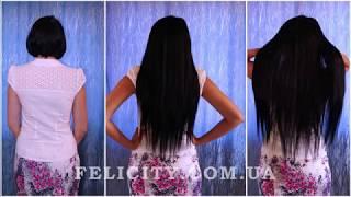 Волосы на заколках - натуральные и искусственные, стоимость, фото, видео и отзывы