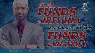 ARE THE FUNDS OF IRFI (UK) EXCHANGED WITH THE FUNDS OF IRF (IND)?