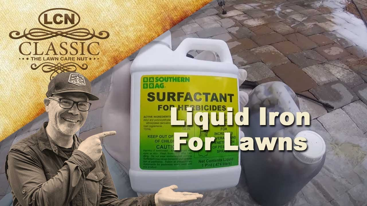 Best Lawn Fertilizer >> Liquid Iron For Lawns - Another Way To Dominate - YouTube
