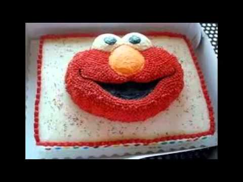 How To Make An Elmo Cake YouTube