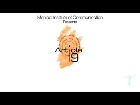 Article 19 - Manipal Institute of Communication Teaser