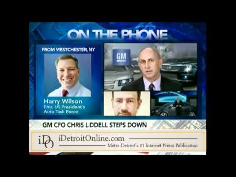 GM chief financial officer Chris Liddell resigns unexpectedly