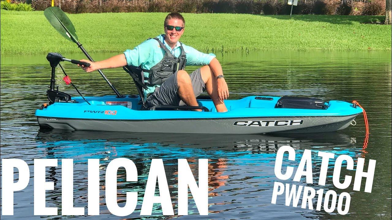 Pelican Catch PWR 100 - ON WATER TEST!