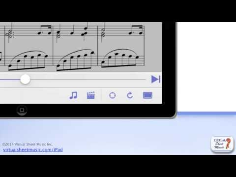 VSM App Ver. 4.5 - Score View - Virtual Sheet Music Viewer Application for iPad, iPhone