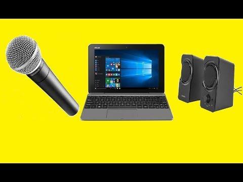 Как сделать караоке на компьютере с микрофоном с усилением звука