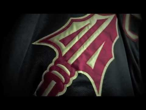 FSU men s hockey club custom black uniforms - YouTube d924bf70e80
