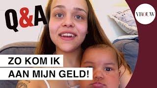 qampa zijn mijn tanden echt? tienermoeder mariah   vlog 03