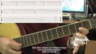 Video Ayla Çelik - Bağdat - Gitar Dersi ( Solo ) download MP3, 3GP, MP4, WEBM, AVI, FLV September 2018