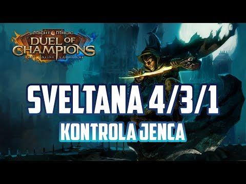 Might & Magic Duel of Champions - Sveltana 3/6/0 opn - Kontrola od Jeńca