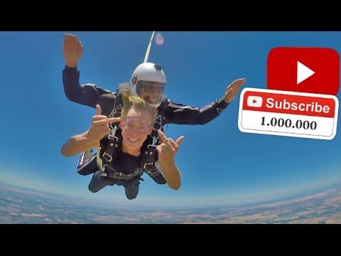 Skydiving For 1 MILLION!