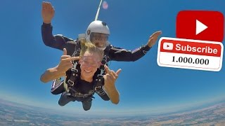 Skydiving For 1 MILLION!