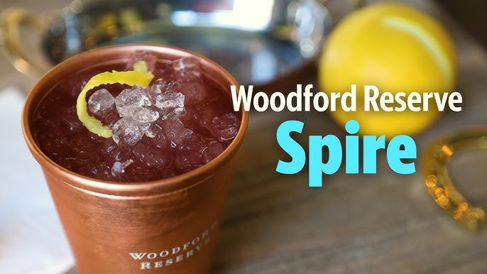 How To Make The Woodford Reserve Spire Cocktail Youtube