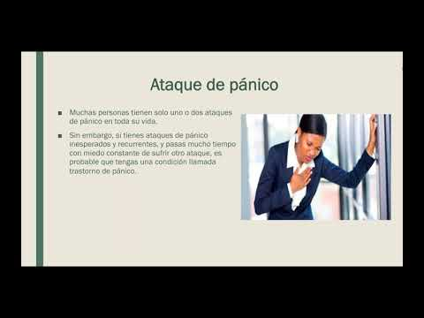 Ataques de pánico/Panic Attacks – Spanish psychoeducational videos  Panic attacks 1
