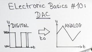Electronic Basics #10: Digital to Analog Converter (DAC)