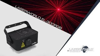 Laserworld EL-300RGB show laser light | Laserworld
