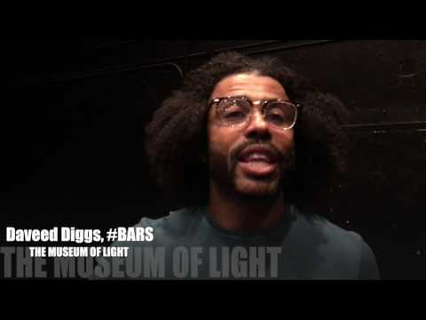 Daveed Diggs on #BARS Workshop for THE MUSEUM OF LIGHT