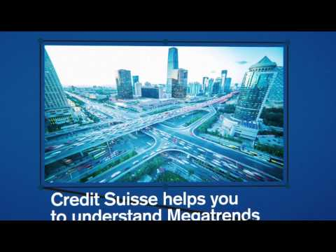 2015 Credit Suisse Global Megatrends Conference in Singapore - The Future. Now.