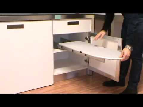 Great ATIM Prua Retractable Ironing Board Demonstration