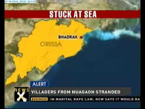 Boat with 32 people on board missing from Orissa coast