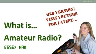 Getting Started: Welcome To Amateur Radio (Old)