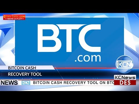 Btc.com Launched A Tool To Recover Bitcoin Cash
