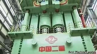 Самый мощный пресс в мире  80,000 тонн  Press most powerful in the world is 80,000 tons