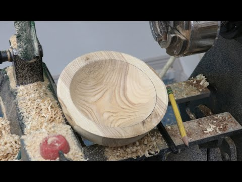 Milling A Log To A Bowl Blank - Woodturning With Sam Angelo