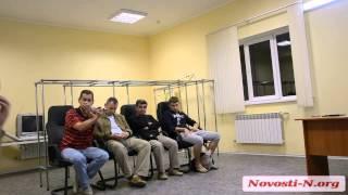 Видео Новости-N: МФК ''Николаев'' и болельщики на встрече