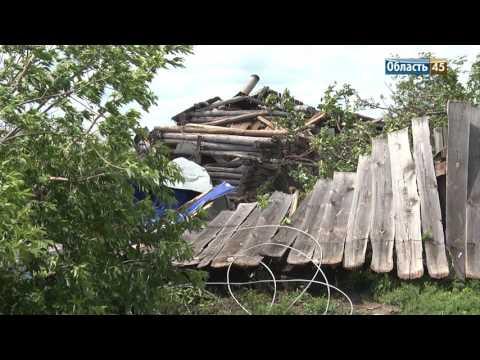 Видеоклип «Буйство природы»: эксклюзивные кадры стихии в Курганской области