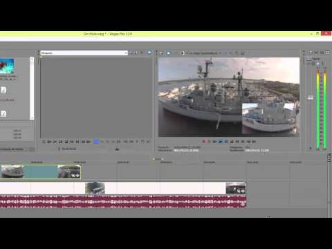 SONY VEGAS 13 - Superponer videos, redimensionar imagen, efectos de sombra y resplador