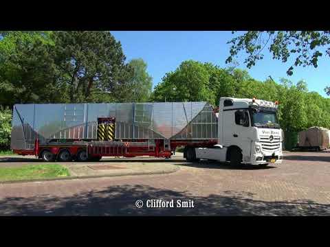 Kermis Haarlem 2018 Afbouw en transport Zaanenlaan Deel 4