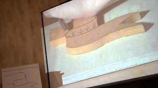 "Woodworking In America 2013 - Mary May ""linenfold Carving"""