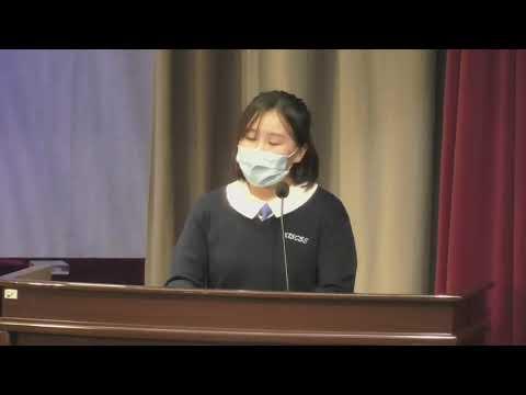 Speech by Graduate Representative