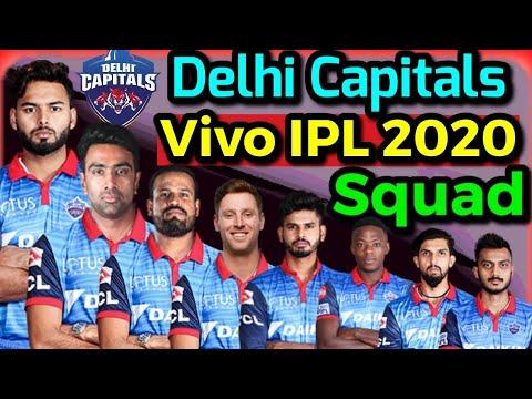 Delhi Capitals Team Sqaud Ipl 2020 Ipl 2020 Dc Probable Squad Ipl 2020 Dc Youtube