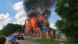Оказание помощи Свято-Казанскому Чимеевскому мужскому монастырю в селе Чимеево