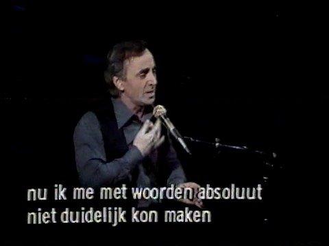 Charles Aznavour - Mon Émouvant Amour