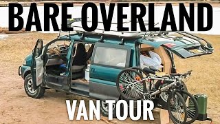 Off-grid Camper Van Tour - Modified Delica Camper Build L400 4x4 Overland Rig