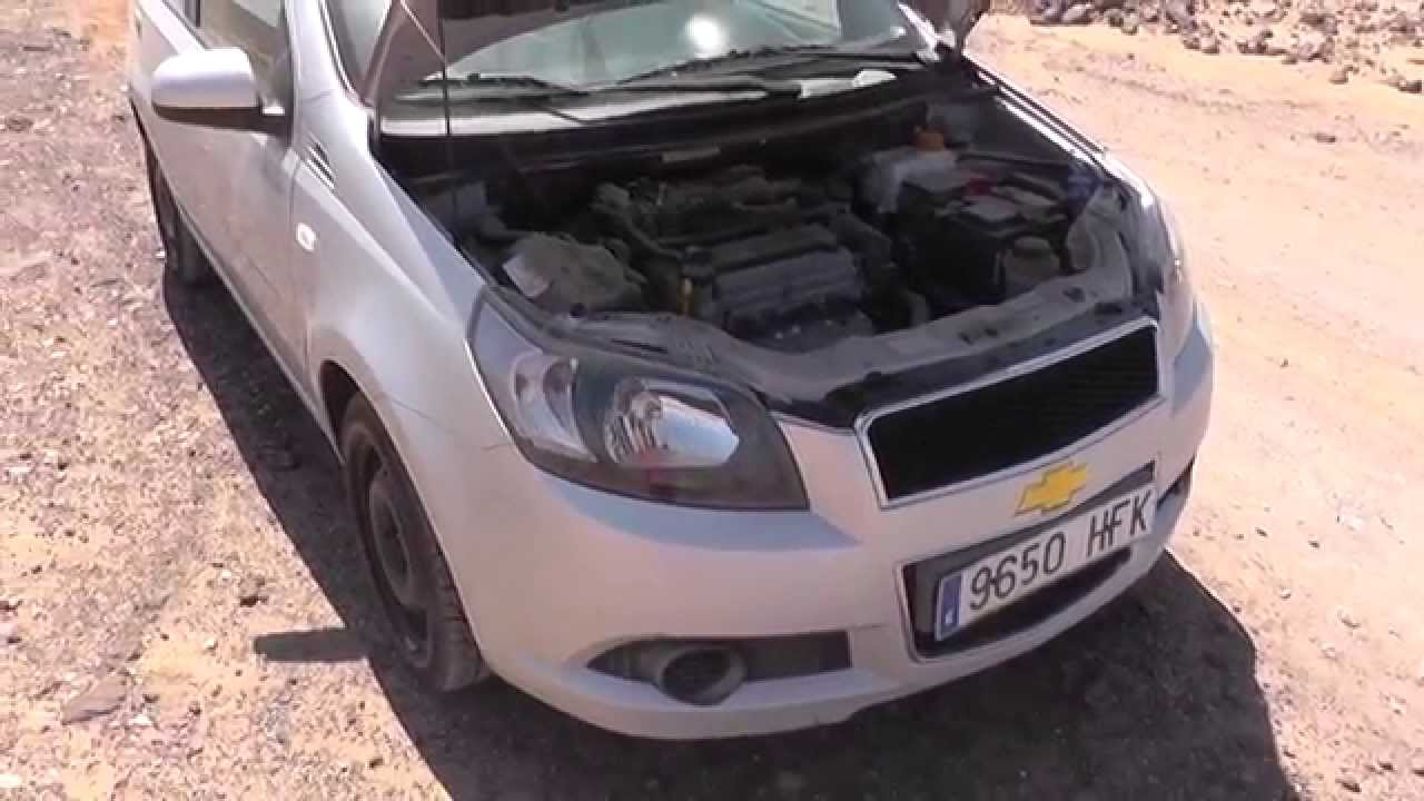 chevrolet aveo map sensor location video