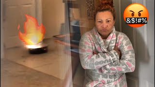EXTREME FIREWORKS PRANK ON MOTHER !!! (Must watch) **KLAIYI HAIR GIVEAWAY**