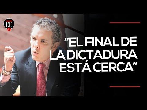 Duque se reunió con representante de Guaidó en Washington | El Espectador