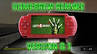 Remake de Left 4 Dead para PSP | Pre Alpha by Q-PSPROJECT | luigi2498