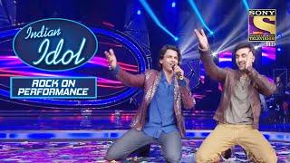 "Abhijeet और Ranbir ने किया ""Mohabbatein Lutaaunga"" पर Perform!   Indian Idol   Rock On Performance"