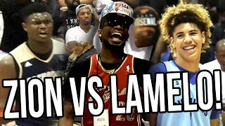 "LaMelo Ball VS Zion Williamson! Game Of The CENTURY! LEBRON COULDN""T EVEN GET IN! FULL HIGHLIGHTS"