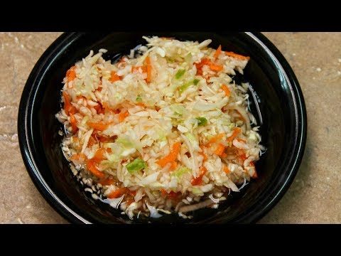 Vinegar Slaw Recipe with Michael's Home Cooking
