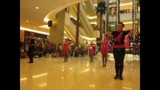 The Bongo Song - Line Dance Competition Tang City Mall 1 April 2012