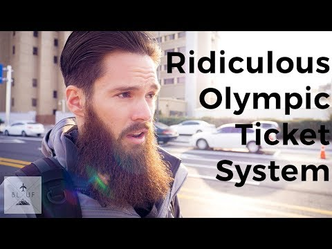 Our Olympics Ticket Nightmare (more inconvenience, really)
