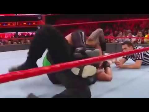 Roman Reigns vs. Samoa Joe Intercontinental championship thumbnail