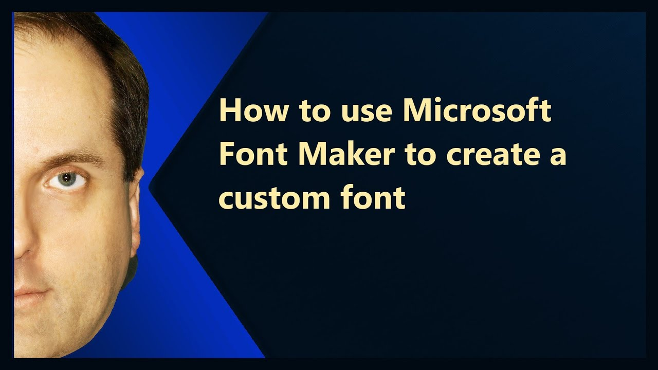 alphabet design maker how to use microsoft font maker to create a custom font 15710 | maxresdefault